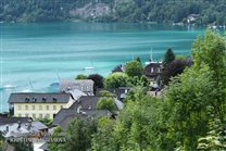 Attersee with its villages is vacation land mainly for divers :-)